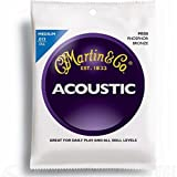 Martin M550 Phosphor Bronze Acoustic Guitar Strings, Medium