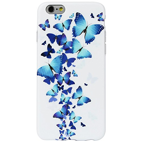 iPhone DICHEER Silicone Transparent Butterfly product image