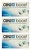 Multibuy 3x CB12® Boost Sugar Free Strong Mint Chewing Gum 10 Pieces
