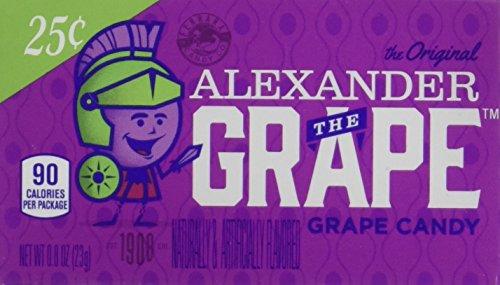 Lemonhead Hard Candy, Alexander The Grape, 0.8 Ounce (Pack of 24)