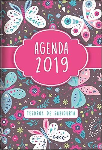 2019 Agenda - Tesoros de Sabiduría - Mariposas: Con Un ...