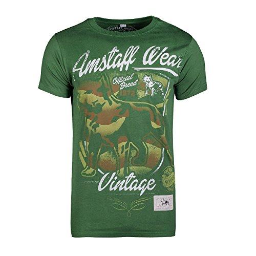 shirt Amstaff T Grün Perro Vintage qBBTwPEC