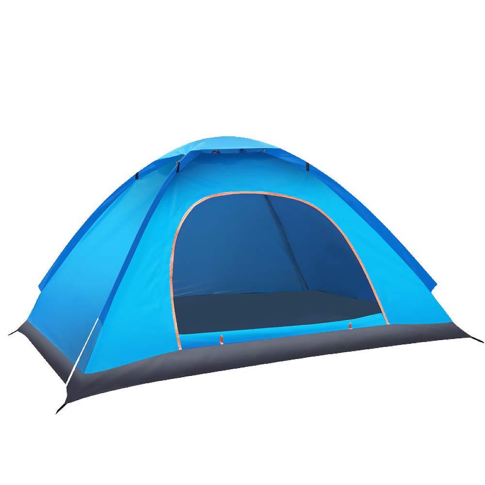 LBAFS Automatisches Sofortiges Pop-Zelt Im Freien Anti-UVregensicher Für Fischen-Strand-kampierendes Wandern, 1 Bis 2 Person,B