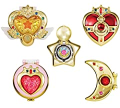 Sailor Moon Transforming Compact 2, which are the most iconic items in Sailor Moon Series.