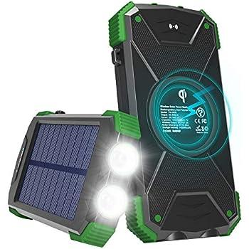 Amazon.com: POWOBEST Folding Waterproof Outdoor Wireless ...