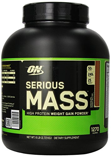 Supplément Nutrition Serious Mass régime optimal, Chocolate Peanut Butter, 6 Pound