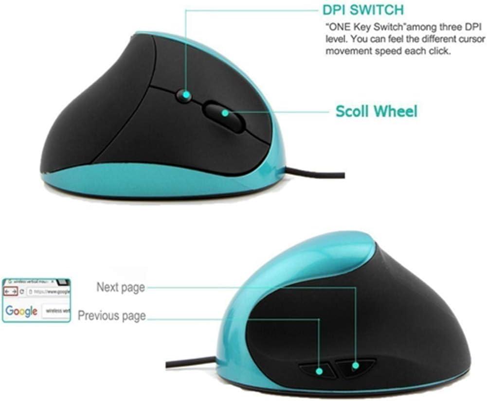 Blue BINGFEI 1600DPI 2.4GHz Wireless Gaming Mouse Optical USB Gamer Computer Mice for PC Laptop Desktop
