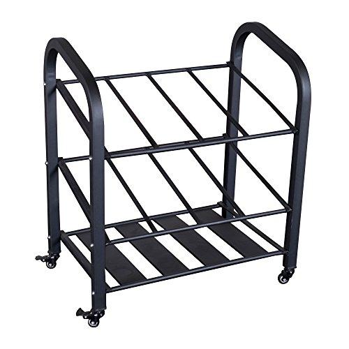 Body Solid Foam Roller/Mat Storage Cart