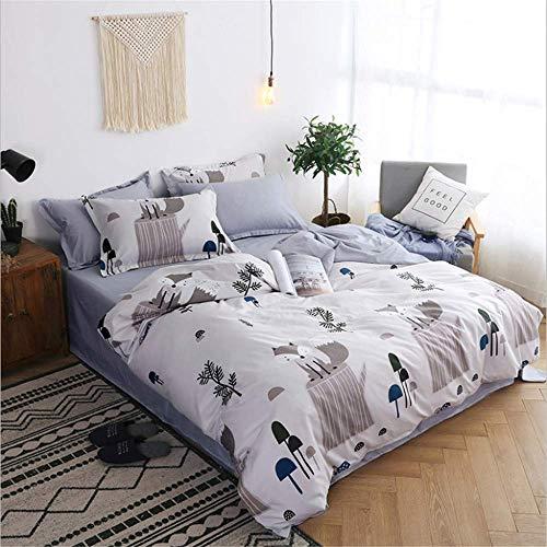- Bedding Size Pretty in Duvet Cover Set Bed Sheet Ab Side Duvet Cover G 180x220cm