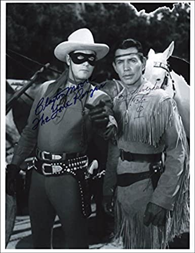 Lone Ranger Tv Cast Photograph Signed With Co Signers At Amazon S Entertainment Collectibles Store