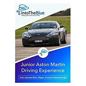 Into the Blue Junior Aston Martin Driving Experience Gift Voucher – Valid at Nationwide Locations, Under 17 Driving…
