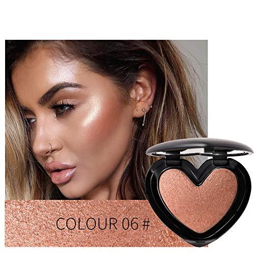 Face 3D Contour Highlighter Bronzer Makeup Shimmer Brighten Skin Highlighting Concealer Cosmetic ()