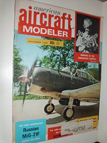 American Aircraft Modeler Magazine (November 1969) Russian MiG-21F