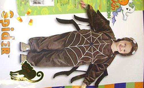 Spider Black Jumpsuit Costume Halloween NIP 0-6 -