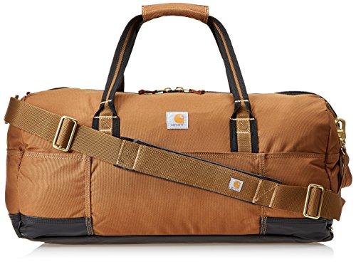 East West Lined Tote - Carhartt Legacy Gear Bag 23 inch, Carhartt Brown