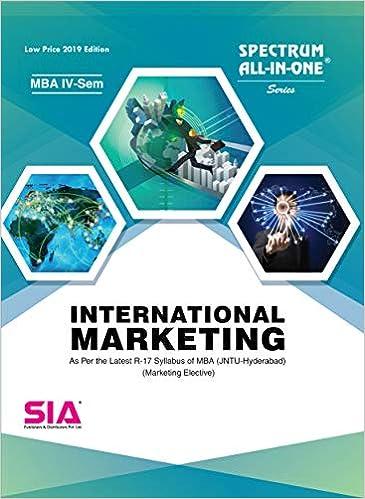 Amazon in: Buy International Marketing, MBA (IV-Semester) Marketing