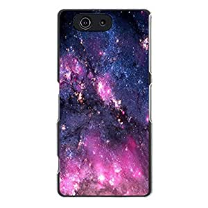 Hot Galaxy Phone Case Cover For Sony Xperia Z3 Compact/Z3 mini Galaxy Stylish