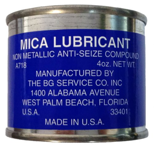 anti seize compound bg mica lubricant 4oz can a718. Black Bedroom Furniture Sets. Home Design Ideas