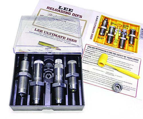 Lee Precision 90694 223 Remington Ultimate Rifle Die Set, Silver ()