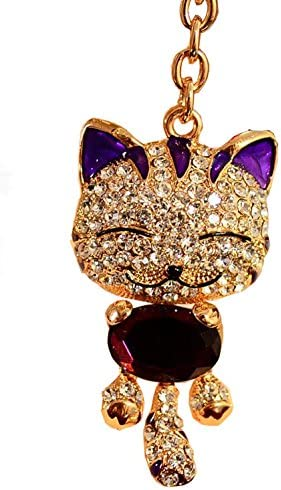 Monogrammable Novelty Gift Bling Crystal Diamond  Keyring Keychain