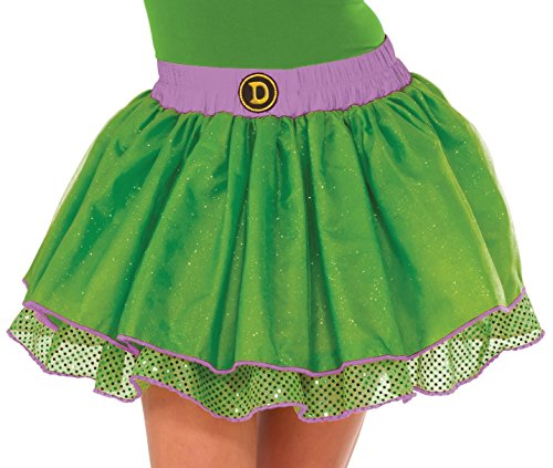 Tmnt Costumes Womens (Rubie's Costume Co Women's TMNT Classic Donatello Tutu Costume, Green, Standard)