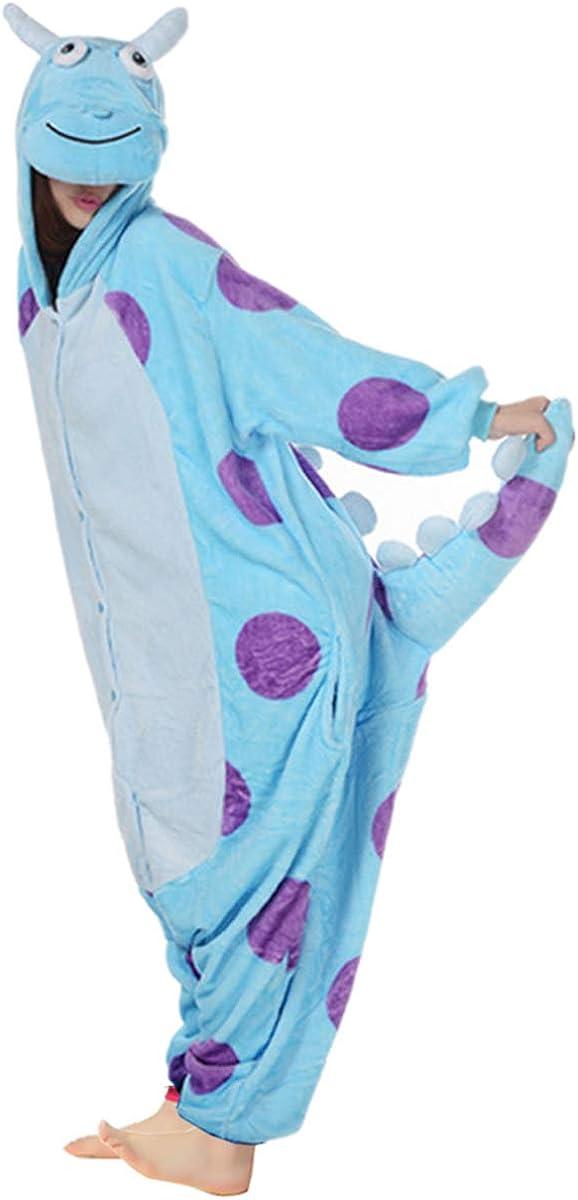 Wealsex Pijamas Unisexo Hombre Mujer Traje Disfraz Animal Pyjamas Cosplay