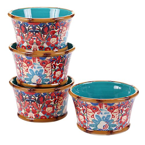 poetic-wanderlust-imperial-bengal-earthenware-55-inch-ice-cream-bowl-set-of-4