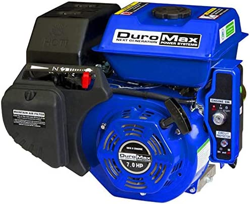 DuroMax XP7HPE 7 hp Electric Recoil Start Engine