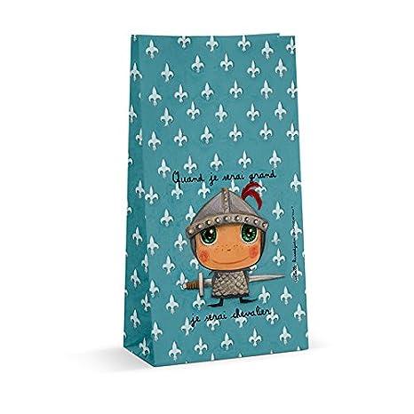 6 bolsas para caramelos de caballero: Amazon.es: Hogar