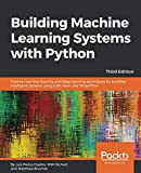 Get more from your data by creating practical machine learning systems with Python Key Features Develop your own Python-based machine learning system  Discover how Python offers multiple algorithms for modern machine learning systems  Explore...