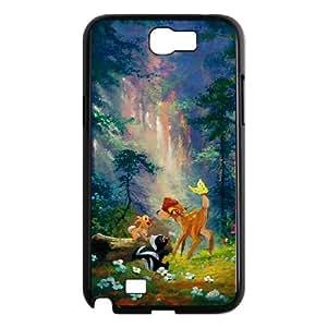 Bambi Samsung Galaxy N2 7100 Cell Phone Case Black Personalized Phone Case LK5LI5775