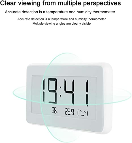 For Mijia Electronic Temperature And Humidity Pro For Mijia Bluetooth Thermometer Pro Wireless Smart Electric Watch Digital Thermometer For Indoor Temperature Hygrometer Baumarkt