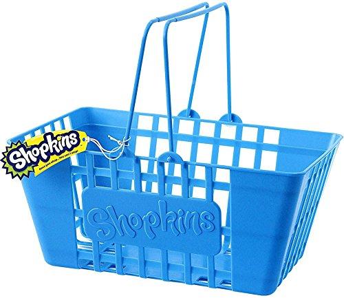 Shopkins Life Sized ( 12 Inch ) Blue Shopping Storage Basket for $<!--$14.99-->