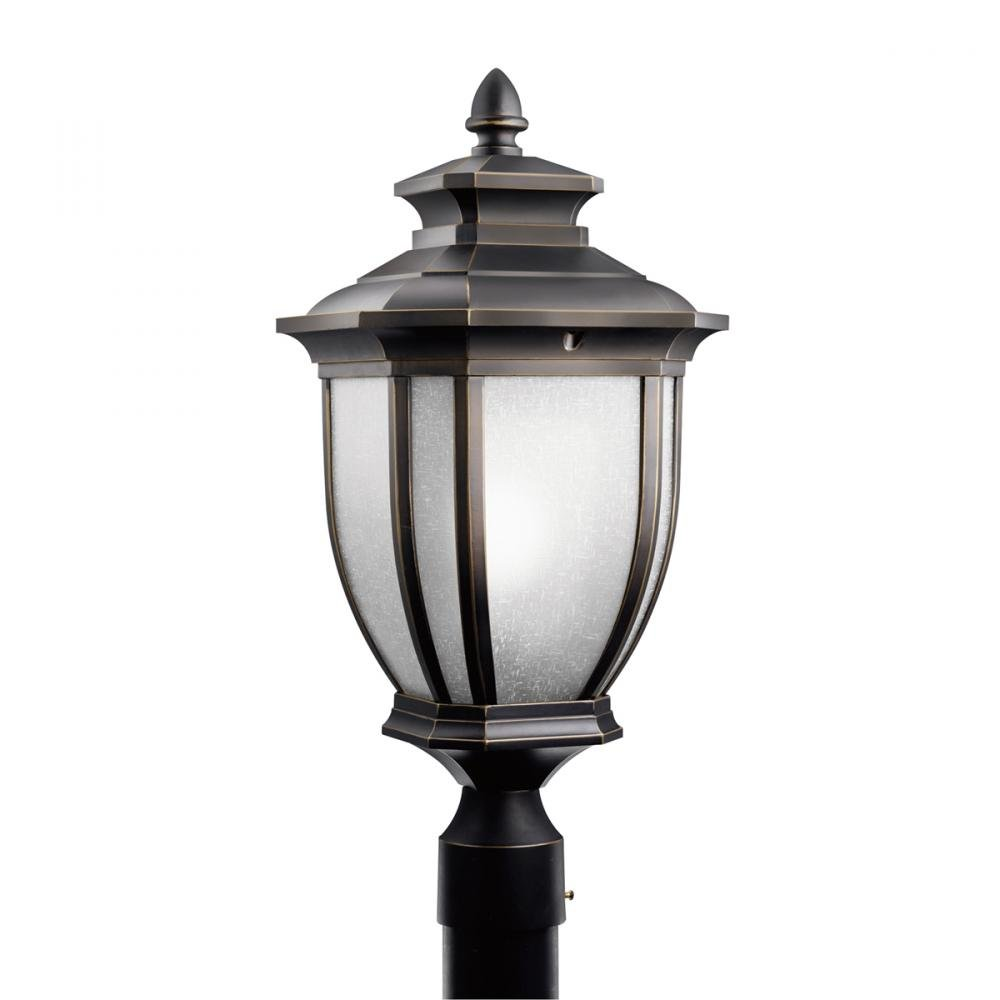 Kichler 9938RZ One Light Outdoor Post Mount