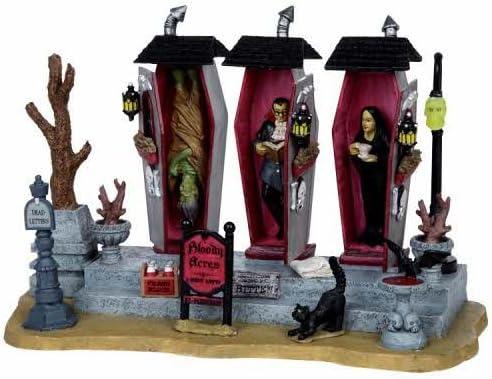 Halloween Cats 2pcs Lemax Spooky Town