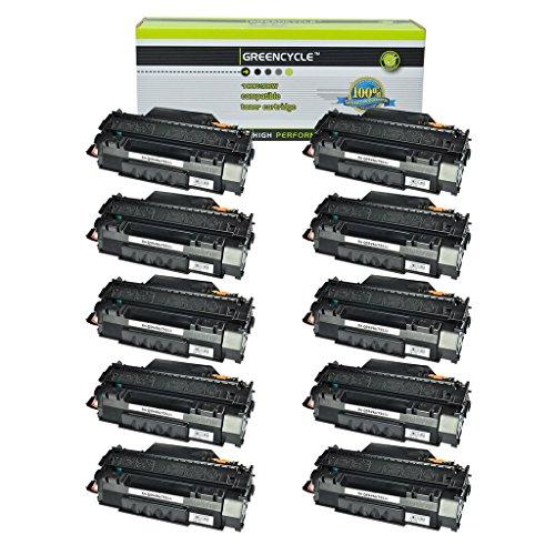 GREENCYCLE 10PK Q5949A Laserjet Toner Cartridge 49A Repla...
