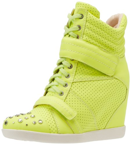 Boutique 9 Nevan Femme Wedge Sneaker Jaune mD86i