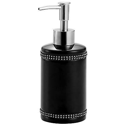 Black Hand Soap Dispenser Refillable Liquid Lotion Dispenser Pump Bottle Dish Soap Dispenser For