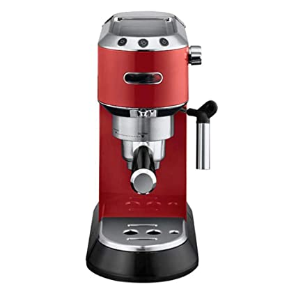 WY-coffee maker Máquina de café Tipo de Bomba de molienda casera semiautomática Italiana,