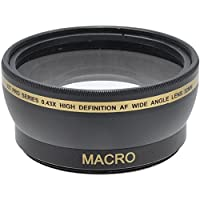 Xit 52mm Wide Angle Lens For Fujifilm Finepix S5800 S5700 S700