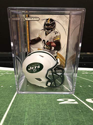 (New York Jets NFL Helmet Shadowbox w/Le'Veon Bell card)
