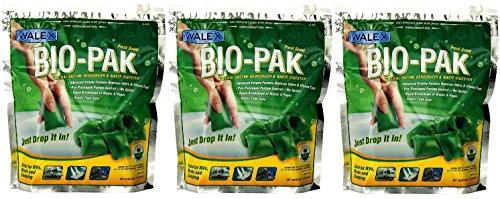 Walex BIO-11530 Bio-Pak Natural Holding Tank Deodorizer a...