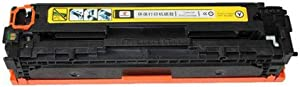 Original Model CC510A for HP M154a Toner Cartridge PRO 204A, M181fw M180N CF510A Ink Cartridge, Easy to Add Powder Laserjet Pro MFP Color Printer, Ready to Use-Yellow