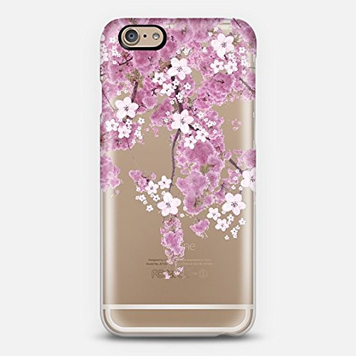 Casetify CHERRY SPRING case TRANSPARENT - iPhone 6 Case (Frosty White)