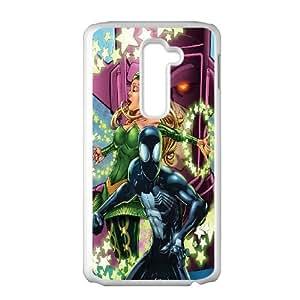 LG G2 Cell Phone Case White Black Spiderman Comics LSO7725341