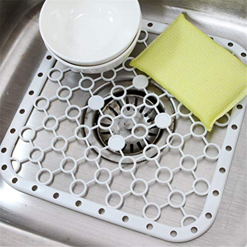 BIN BON - Creative Kitchen Sink Debris Filter Mat Increase Chassis Cups Dried Drain Pan And Insulation Pads