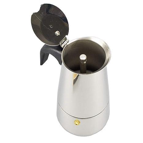 Acero Moka Cafeteira Italiana Prensa francesa Máquina de accesorios para café exprés Barista Coffee Pot Percolator