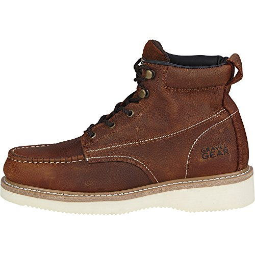 Gravel Gear 6in. Moc Toe Wedge Boot (10.5) by Gravel Gear (Image #2)