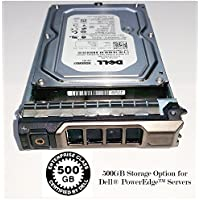 Dell - 500GB 7200RPM SATA-300 3.5 Hard Drive W/ Sled. Mfr. P/N: 342-3514. 3 Year Warranty with Databug.