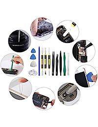 (2309A Small) Kit de herramientas desarmador de reparación para iPhone  iPad  iPod  otros celulares (23 unidades)